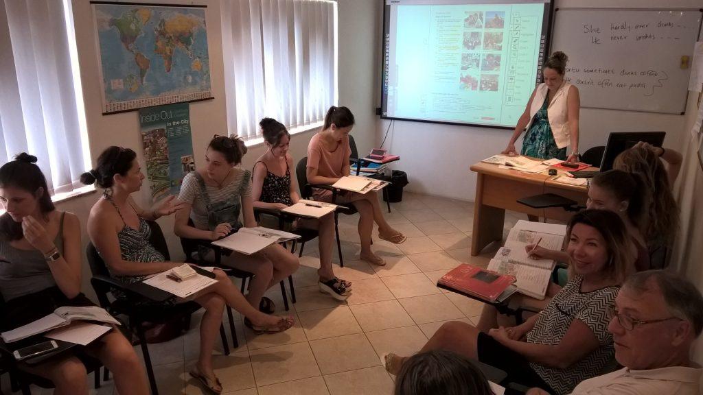 GSE Malta aula foto Inglese Intensivo Malta scuola gruppo inglese colloquiale