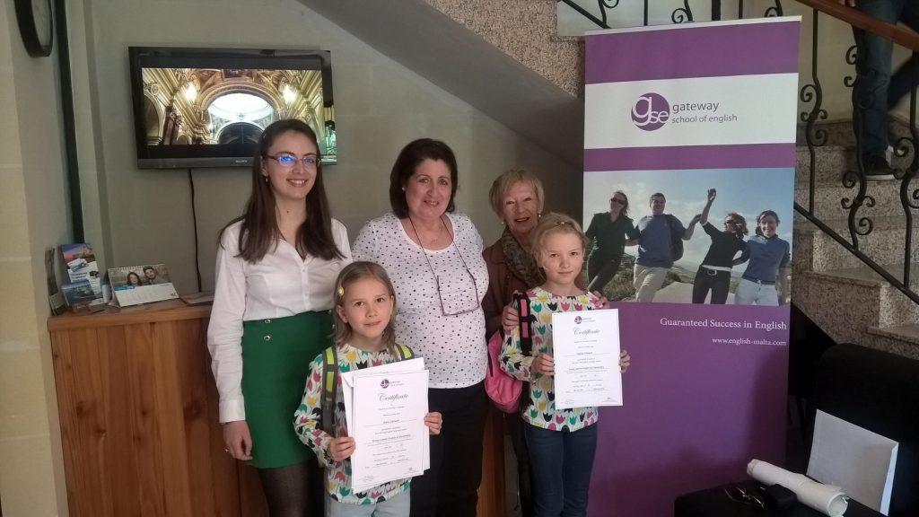 GSE Malta corsi di inglese per famiglie genitori e bambini