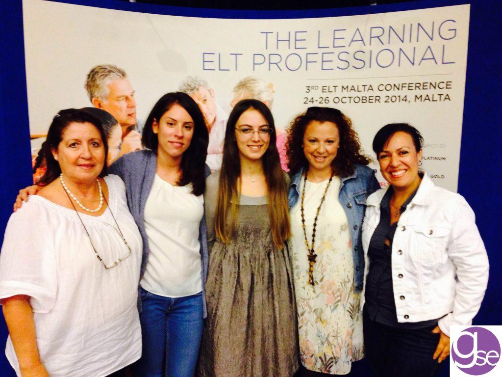 GSE Malta insegnanti alla conferenza annuale di insegnamento della lingua inglese a La Valletta