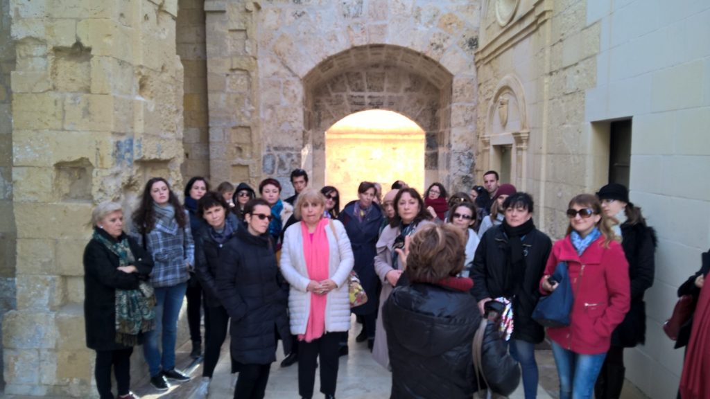 Gateway School of English Malta FAM Trip 2018 per agenzie studio