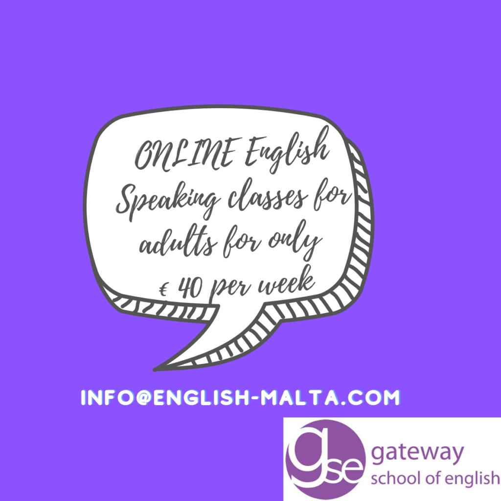 lezioni di conversazione in inglese online tutto l'anno